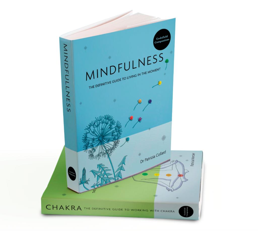 """illustrazioni selezionate tratte dal libro """"GODSFIELD COMPANION: Mindfulness"""" by Patrizia Collard. realizzate da emilia franchini per ©Octopus, Hachette"""