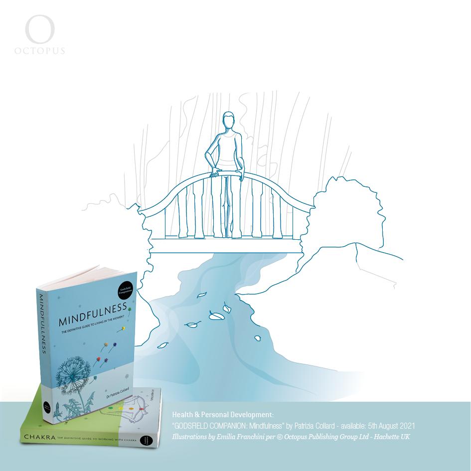 """illustrazioni selezionate tratte dal libro """"GODSFIELD COMPANION: Crystals"""" by Lauren D'Silva. realizzate da emilia franchini per ©Octopus, Hachette"""